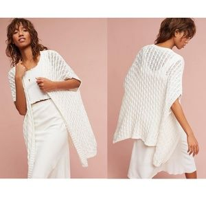 🆕Anthropologie Mo:Vint Open Stitched Cardigan
